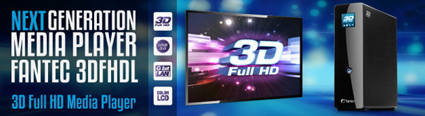 new 3DFHDL 3D Full HD Media Player