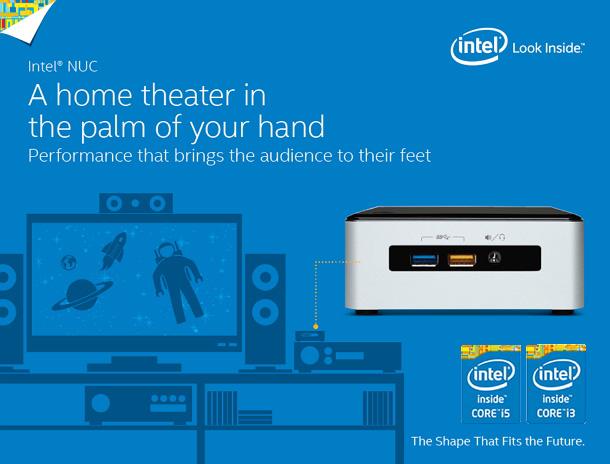 Intel NUC ultra compact PC