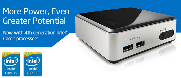 Intel NUC ultra compact PC